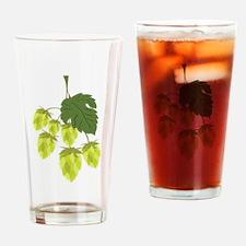 Hops Drinking Glass