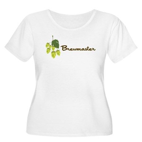 Brewmaster Women's Plus Size Scoop Neck T-Shirt