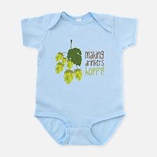 Making Drinkers Hoppy Infant Bodysuit