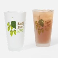 Making Drinkers Hoppy Drinking Glass