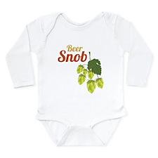 Beer Snob Long Sleeve Infant Bodysuit