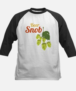 Beer Snob Kids Baseball Jersey