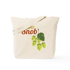 Beer Snob Tote Bag