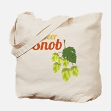 Beer Snob Tote Bag