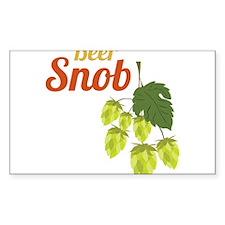 Beer Snob Decal