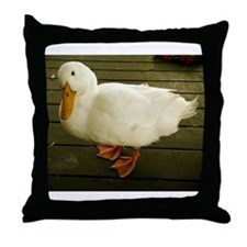 Pekin Duck Throw Pillow