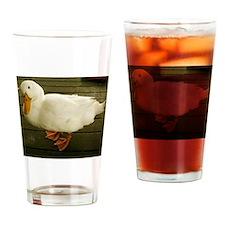 Pekin Duck Drinking Glass