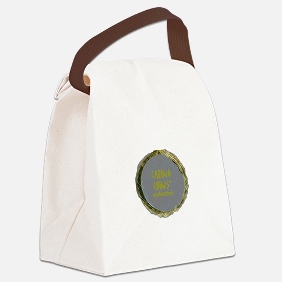 20070317 Caring Coins.jpg Canvas Lunch Bag