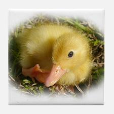 Baby Duckling Tile Coaster