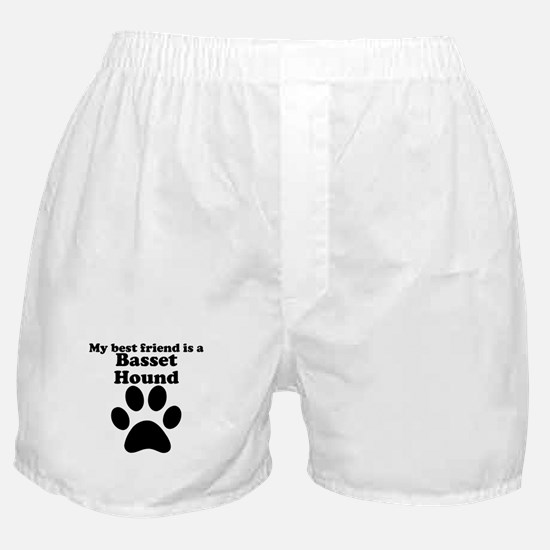 Basset Hound Best Friend Boxer Shorts