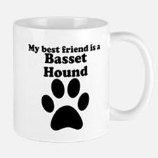 Basset Hound Best Friend Mug