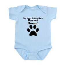 Basset Hound Best Friend Infant Bodysuit