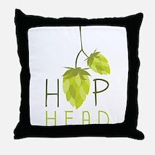 Hop Head Throw Pillow