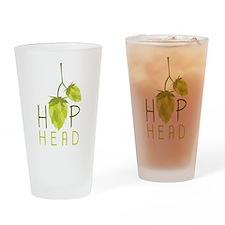 Hop Head Drinking Glass