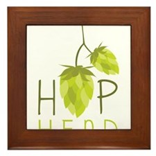 Hop Head Framed Tile