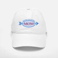 Cross Country Mom Train to Watch Baseball Baseball Cap