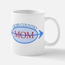 Cross Country Mom Train to Watch Mug