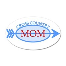 Cross Country Mom Train to Watch Wall Decal