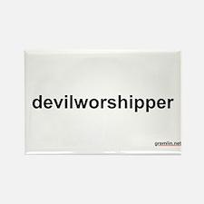 devilworshipper Rectangle Magnet