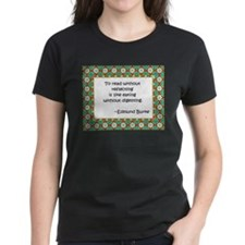 To read without reflecting Tee