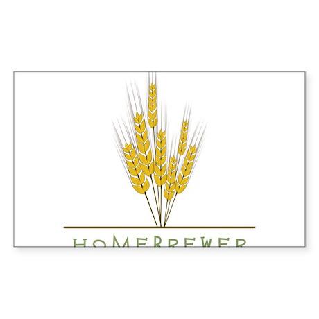 Homebrewer Sticker (Rectangle)