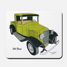 '34 Ford Pickup Mousepad