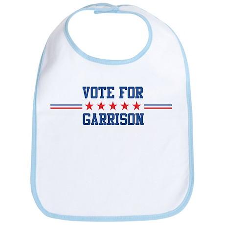 Vote for GARRISON Bib