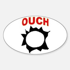 OUCH Sticker (Oval)