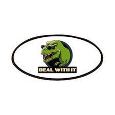 Deal with it T-rex Patches