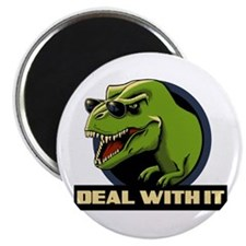 """Deal with it T-rex 2.25"""" Magnet (100 pack)"""