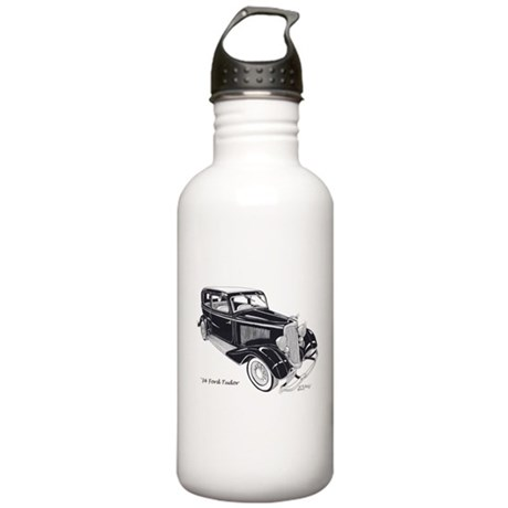 '34 Ford Tudor Stainless Water Bottle 1.0L