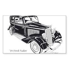 '34 Ford Tudor Decal