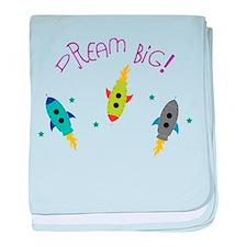 Dream Big! baby blanket