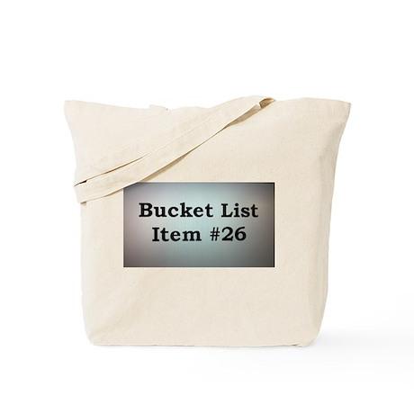 Bucket List Item Tote Bag
