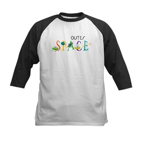 Outer Space Kids Baseball Jersey