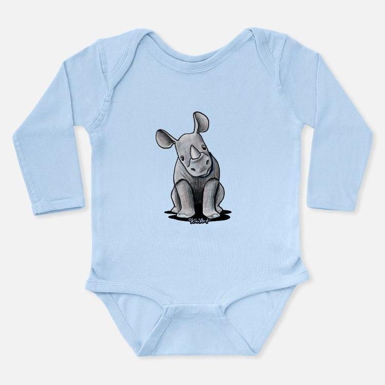 Cute Rhino Onesie Romper Suit