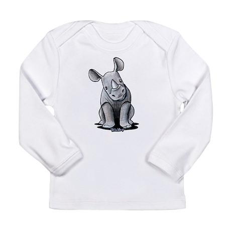 Cute Rhino Long Sleeve Infant T-Shirt