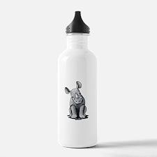 Cute Rhino Water Bottle
