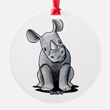 Cute Rhino Ornament