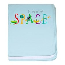 In Need Of Space baby blanket