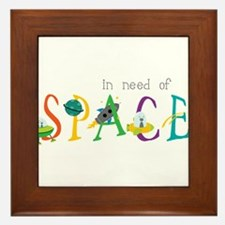 In Need Of Space Framed Tile