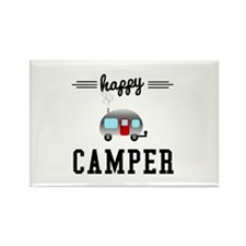 Happy Camper Rectangle Magnet