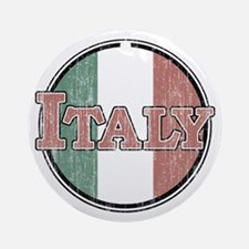 VINTAGE Italy Ornament (Round)