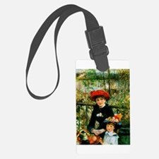 Two Sisters (On the Terrace) Luggage Tag