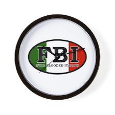 Full Blooded Italian Wall Clock