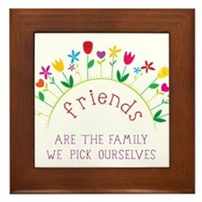 Friends Framed Tile