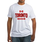 Toronto Canada Fitted T-Shirt