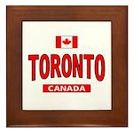 Toronto Canada Framed Tile