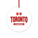 Toronto Canada Ornament (Round)