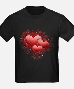 Floral Hearts T
